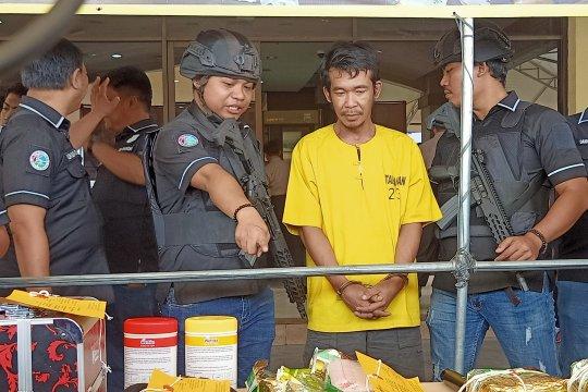 Putus informasi polisi, bandar sabu rekrut pengedar tak saling kenal