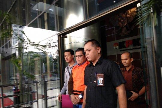 KPK tahan Ketua Fraksi Golkar DPRD Jambi