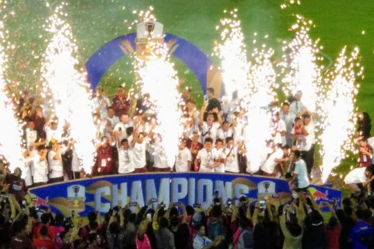 PSM juara Piala Indonesia 2019