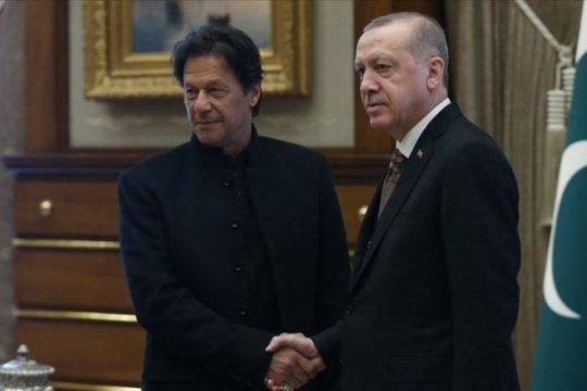Pemimpin Turki-Pakistan bahas tindakan India di Kashmir
