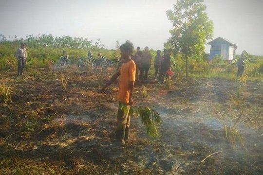 Seorang lagi petani Kotim diproses hukum karena diduga membakar lahan