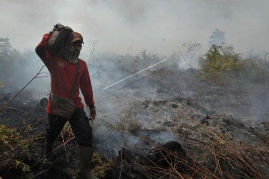 Titik panas terdeteksi di Asia Tenggara hingga Papua Nugini