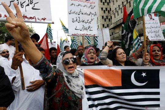 Indonesia amati peningkatan ketegangan di wilayah Kashmir