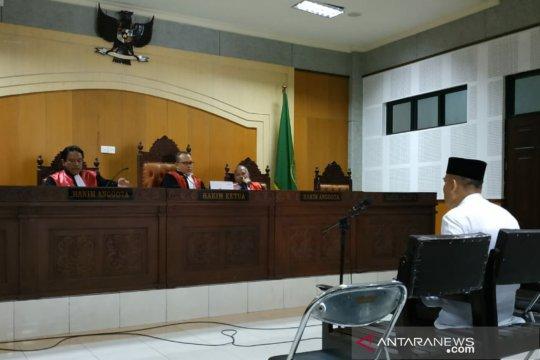 Terdakwa dana masjid Lombok nyatakan pungli atas perintah Kakanwil