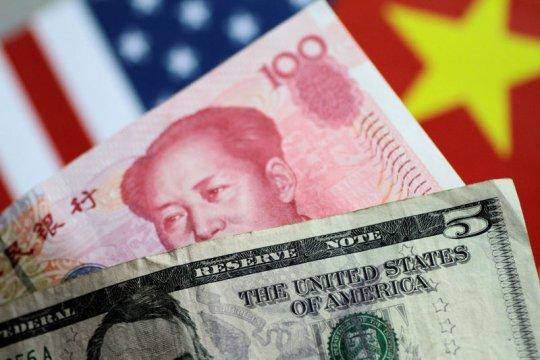 Yuan di pasar luar negeri mencapai titik terendah sepanjang waktu