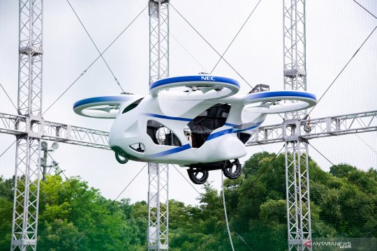 NEC Corporation demonstrasikan prototipe mobil terbang listrik