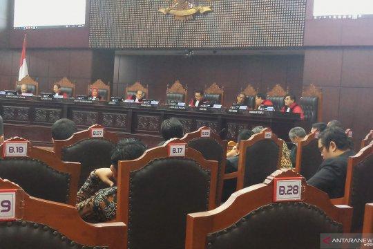 Sidang Pileg, MK tolak gugatan dua caleg Gerindra