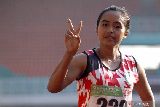 Tryaningsih raih emas lari 10.000 meter putri senior