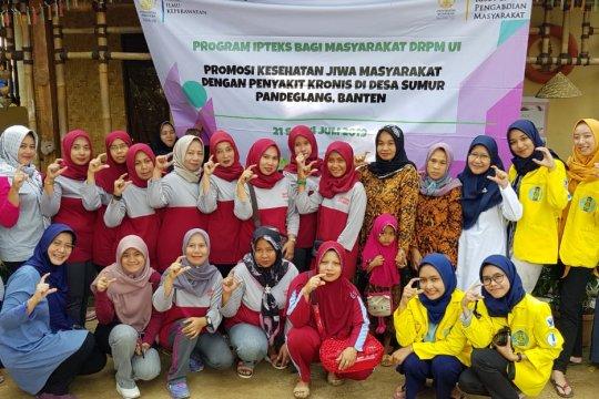 FIK UI bantu atasi kesehatan jiwa warga Pandeglang Banten