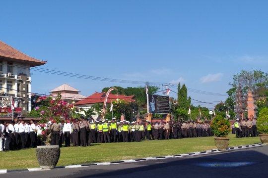 610 personel polisi untuk pengamanan Kongres V PDIP di Bali