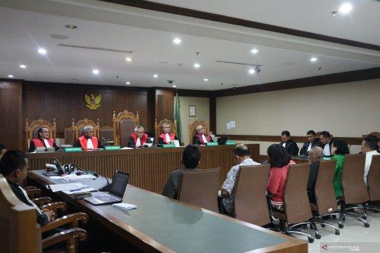 Enam mantan anggota DPRD Sumut divonis empat tahun penjara