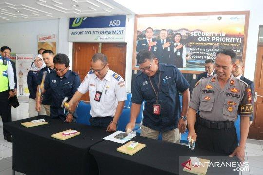 """Bandara Ngurah Rai musnahkan """"prohibited item"""" sitaan"""