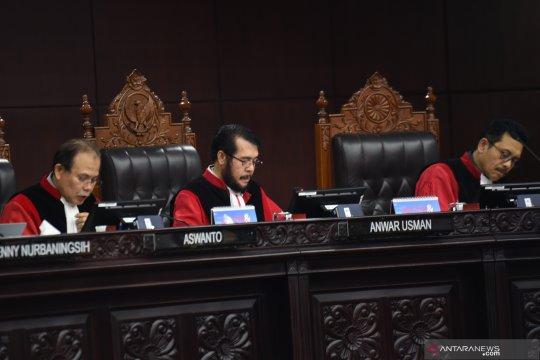 Sidang Pileg, MK batalkan SK KPU untuk Dapil Sumut 9 DPRD
