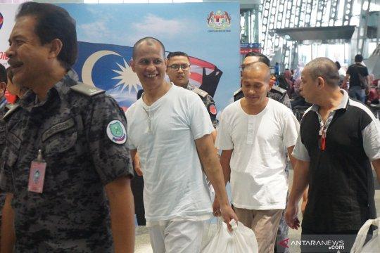 Tiga WNI terpidana mati dipulangkan ke Aceh
