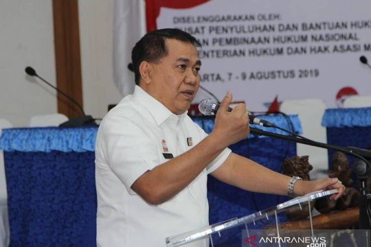 BPHN gandeng 20 Ormas tingkatkan kualitas sadar hukum