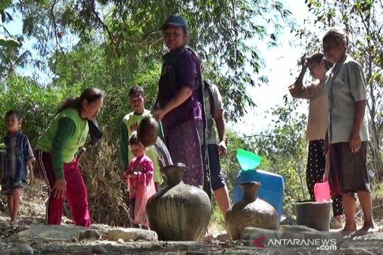 Kekurangan air bersih dialami ratusan warga Desa Kalimati-Boyolali