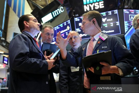 Saham-saham di Wall Street melambung, ditopang laporan laba yang kuat