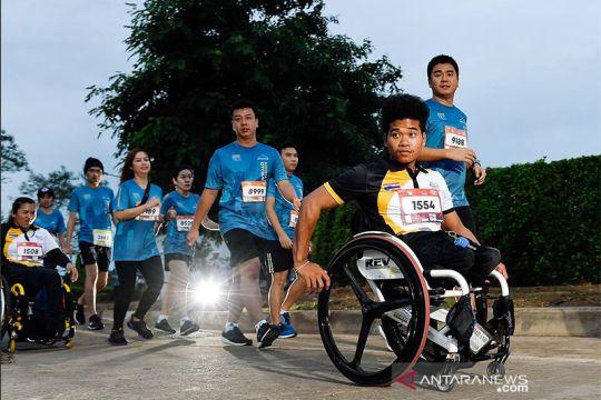 40 atlet difabel ikuti maraton di Bangkok