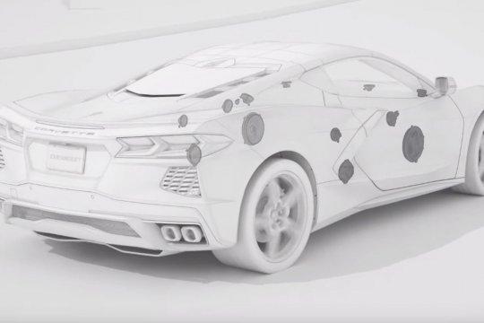 Corvette Stingray baru hadir dengan 10 speaker dari Bose