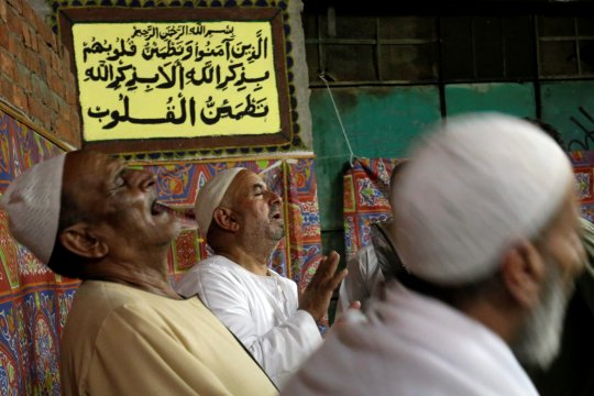 Tradisi orang Mesir melepas kerabatnya pergi haji