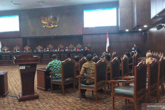 Sidang Pileg, MK tolak gugatan Partai Nasdem Maluku