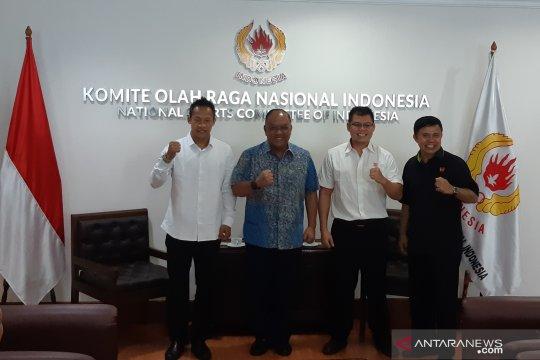 Marciano Norman pertemukan tiga juara dunia tinju asal Indonesia
