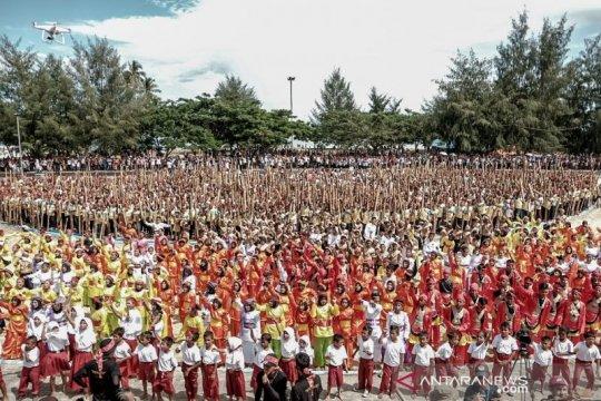 Pertunjukan musik Bambu Tada pecahkan rekor MURI