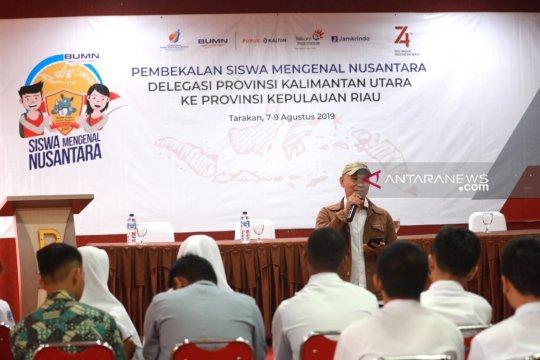 23 Siswa Mengenal Nusantara mendapat pelatihan dunia jurnalistik