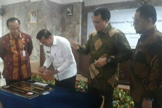 KPK hibahkan tanah dan ruko ke Pemkot Pekanbaru