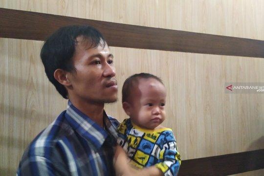 Bocah yang ditelantarkan di Medan akhirnya bertemu orangtuanya