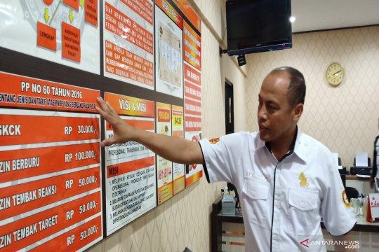 150 warga Kalimantan Selatan kantongi izin senjata api