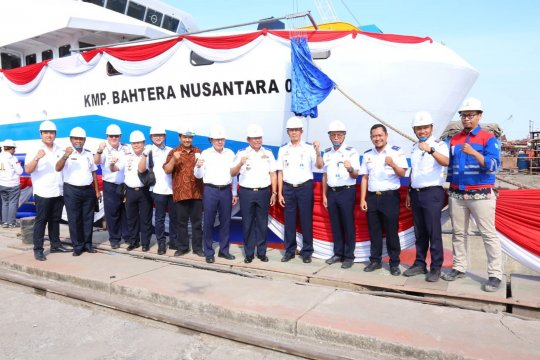 Maluku dapat satu Kapal penyeberangan Roro 1.500 GT