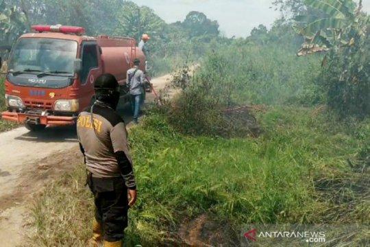 Sudah empat warga Kotawaringin Timur jadi tersangka pembakar lahan
