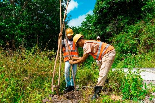 PLN berjuang bangun infrastruktur di pedalaman Sumbawa