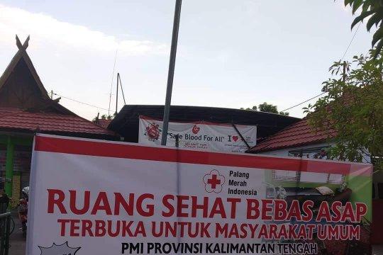 PMI siapkan ruangan bebas asap untuk warga terdampak karhutla