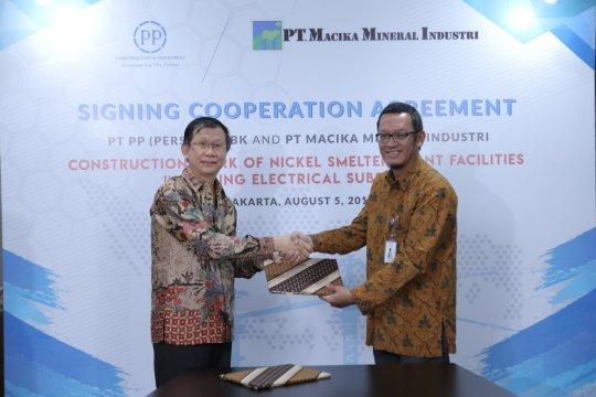 PT PP tandatangani kerja sama bangun smelter dan Tol Semarang-Demak