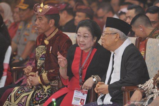 """Pengamat: Kehadiran Prabowo di Kongres PDIP bisa jadi """"sinyal"""" 2024"""