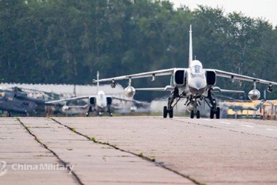 AU China terbangkan pesawat pengebom generasi terbaru
