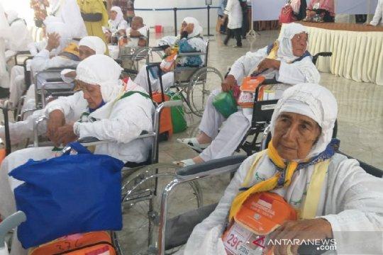 Sudah kembali ke kloter calhaj Embarkasi Medan yang dirawat KKHI