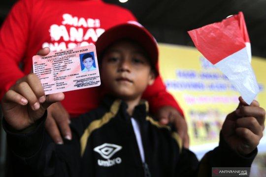 Target realisasi pembuatan Kartu Identitas Anak