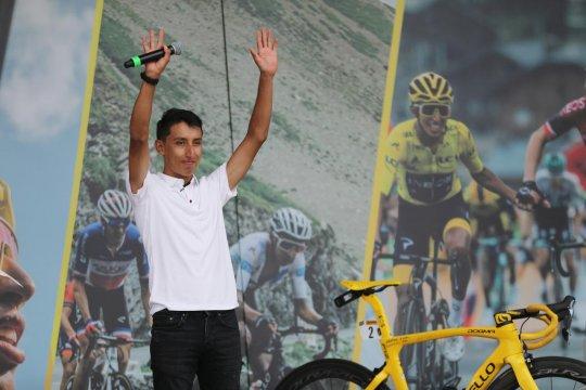 Egan Bernal disambut bak pahlawan di Kolombia