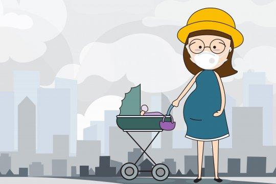 Ibu hamil dan anak harus lebih hati-hati terhadap polusi udara