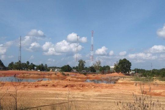 Air kubangan bekas galian bauksit Tanjungpinang diperjualbelikan