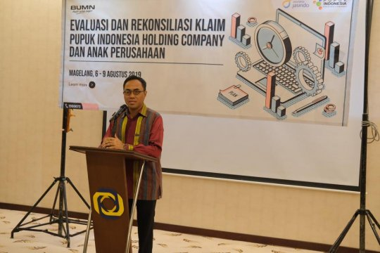 Tingkatkan layanan, Jasindo gelar evaluasi dan rekonsiliasi dengan Pupuk Indonesia
