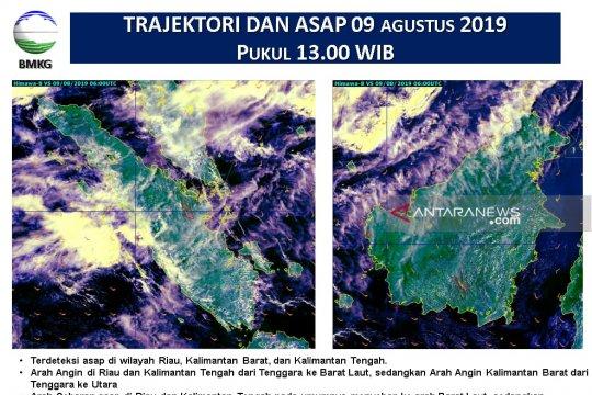 Deteksi satelit: Nunukan terpapar asap kiriman
