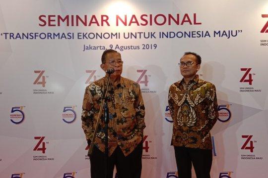 Menko Darmin optimistis transformasi ekonomi dorong kemajuan Indonesia