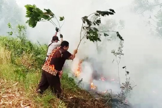 Polda Riau berikan sinyal kembali tetapkan korporasi pembakar lahan