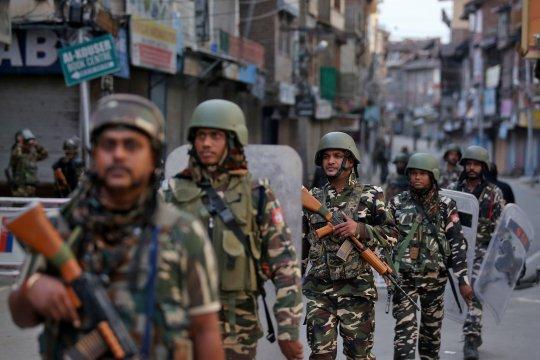 India perketat keamanan di Kashmir menjelang seruan unjuk rasa