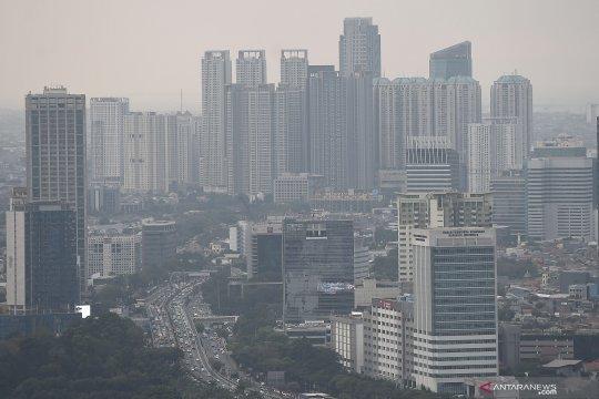 Senin pagi kualitas udara Jakarta tidak sehat