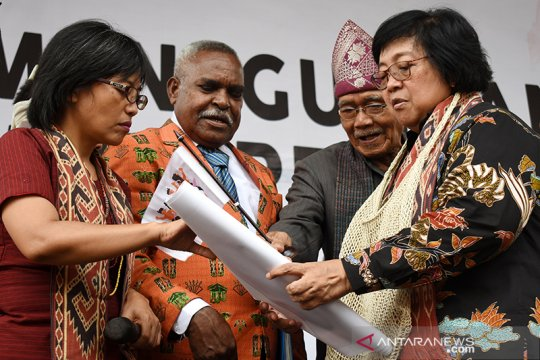 Menteri LHK: Luas indikatif hutan adat mencapai 574.119 hektare